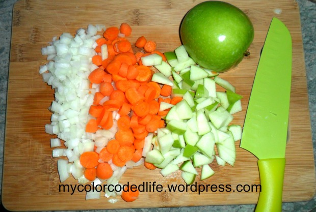 Ingredients for Butternut Squash Soup
