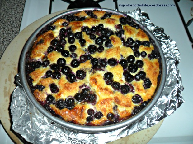 xmas blueberry bake