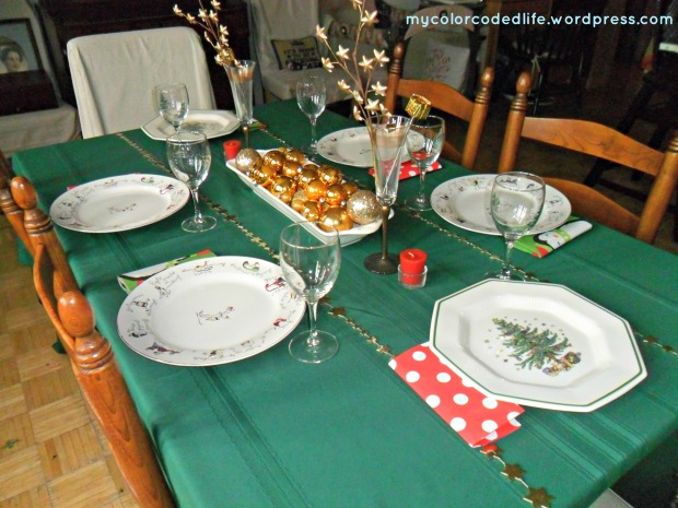 xmas table 2012 last year on Girard