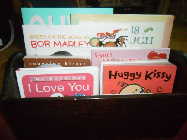 Holiday Book Box for Valentine's Day