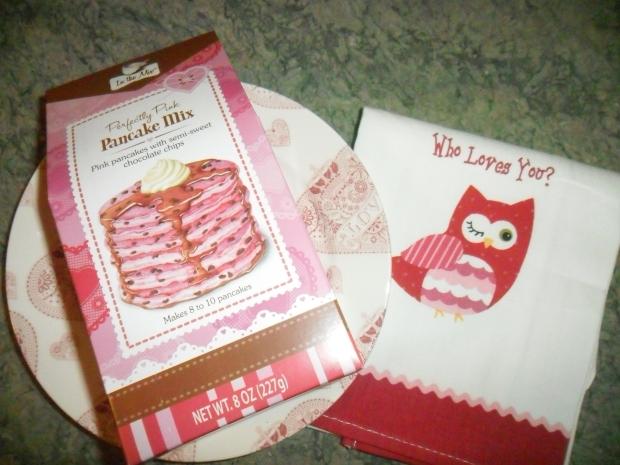 pink pancake mix