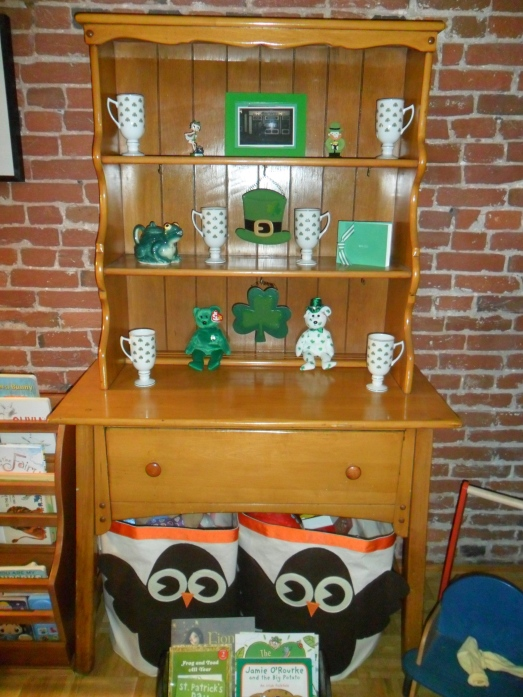 March Holiday Cabinet