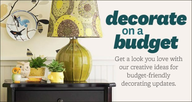 Better Homes and Gardens Decorate on a Budget