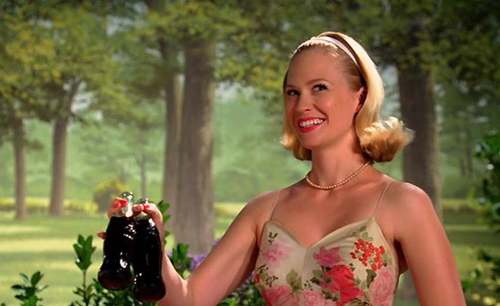 Mad Men Betty Coke Ad