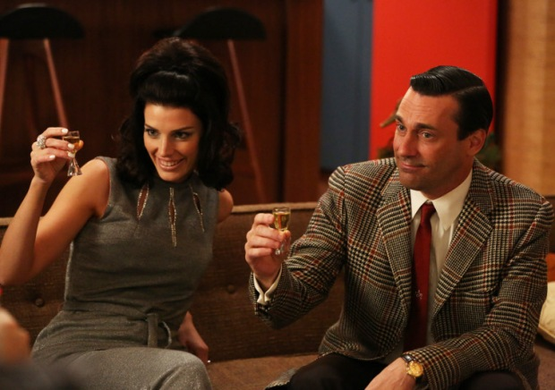 Mad Men Season 6 Megan and Don