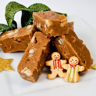 Gingerbread and Chocolate Fudge