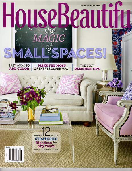 House Beautiful July / August Issue