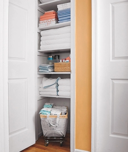 After Closet shot from Real Simple