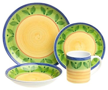 Dinnerware Set from Caleca