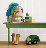 Real Simple Back to School Organizing