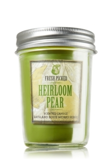 Heirloom Pear Mason Jar Candle