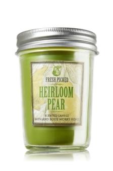 Heirloom Pear Mason Jar Candle
