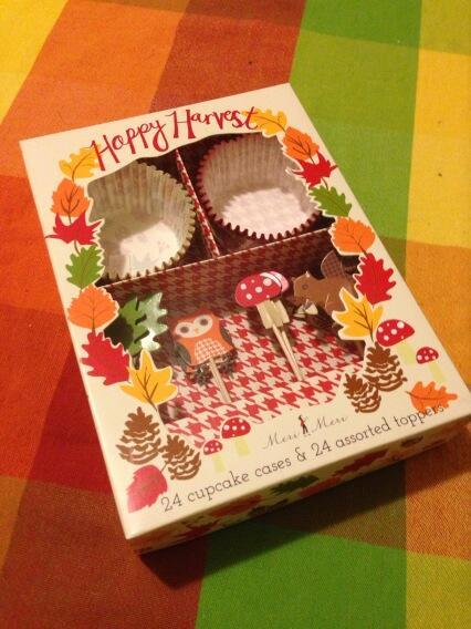 Happy Harvest Cupcake Decoration Kit by Meri Meri