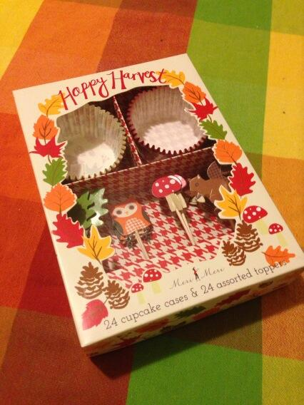 Happy Harvest Cupcake Decoration Kit by Meri Meri