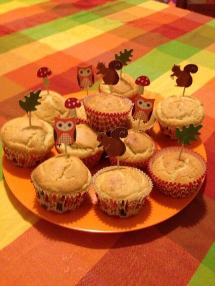 Happy Harvest Corn Muffins