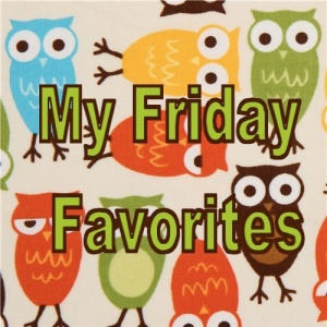 Owl Friday Favorites