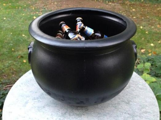 Halloween Witches' Cauldron Of Brew