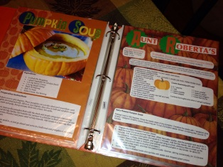 Mullin Family Cookbook Scrapbook
