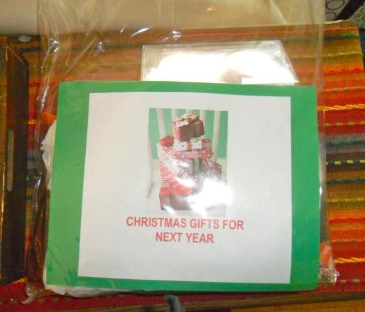 Christmas Gift Storage bag