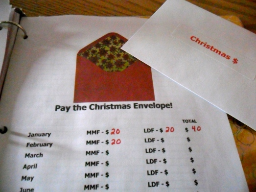 Pay the Christmas Envelope!