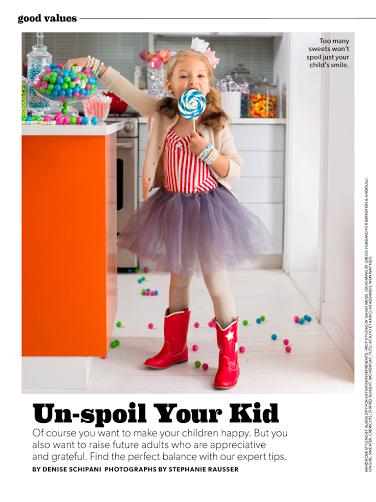 Parents Magazine - Feb 2014 How to Un-Spoil Your Child