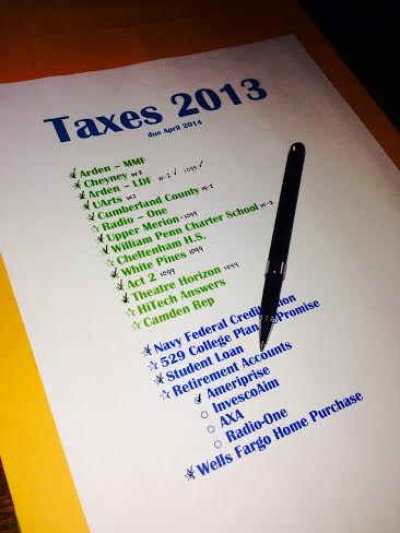 Organizing your Tax Documents