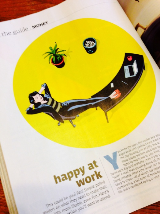 Happy at Work | Real Simple