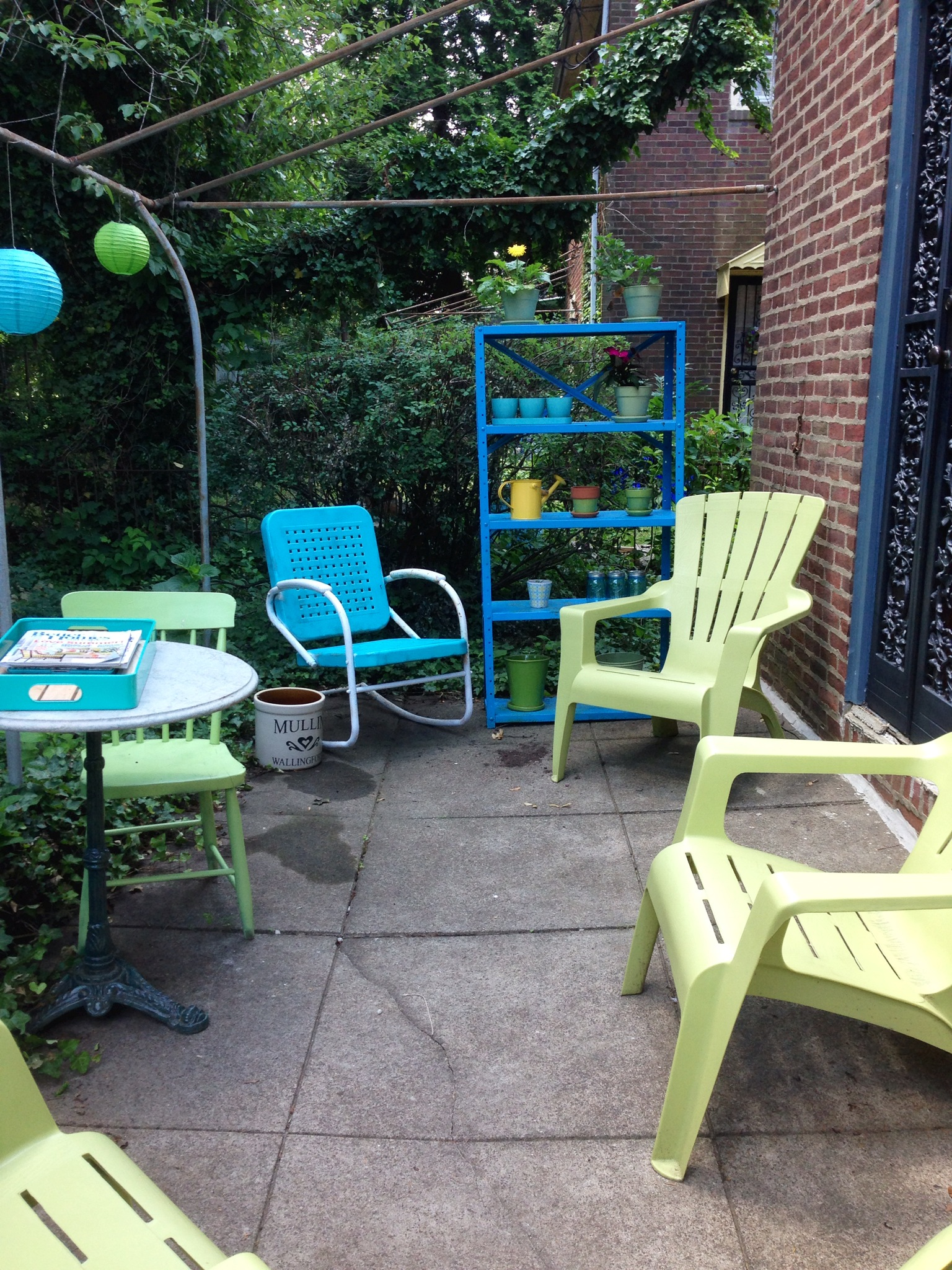 Patio Makeover Part 2