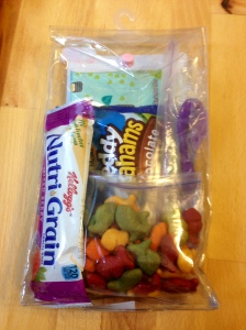 dry snack bag