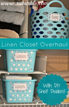 suburble MY LIFE IS EMBARRASSING: THE LINEN CLOSET
