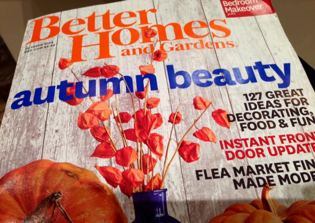 Better Homes and Gardens Oct 2014