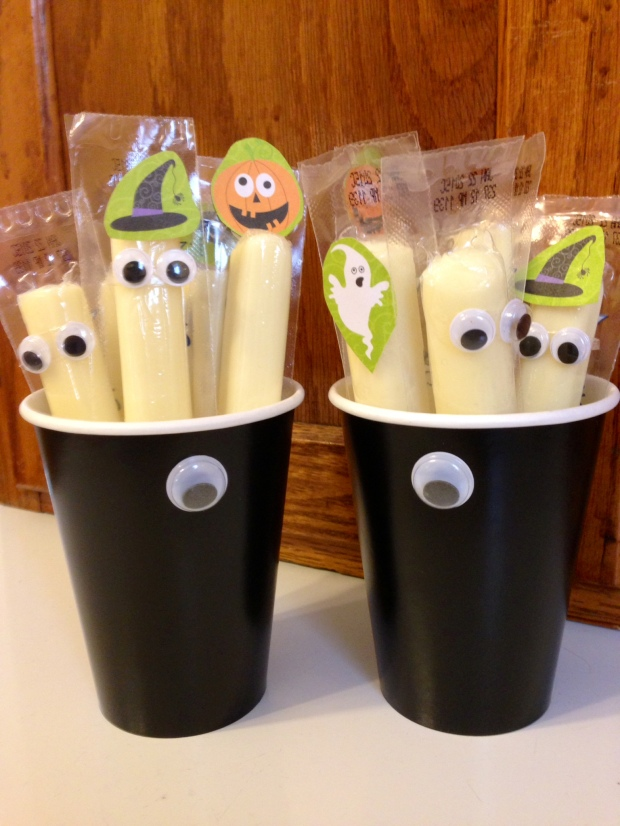 spooky cheese sticks