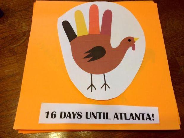 Thanksgiving Countdown Calendar