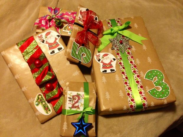 Santa gifts 2014