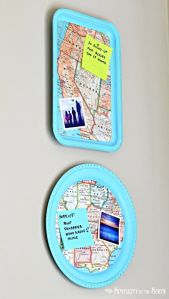 Magnetic Map Trays