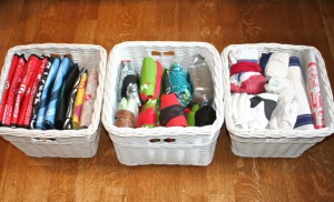 Storing Reusable Bags from Modern Parent Messy Kids