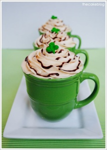 Irish Coffee Cupcakes _cakeblog