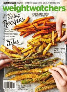 Weight Watchers March April 2015