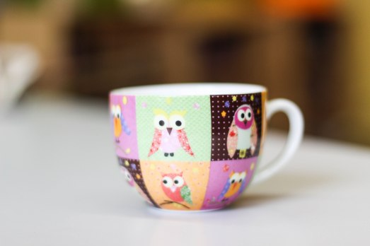owl mug _my color coded life