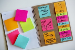 post-it notes from eighteen25