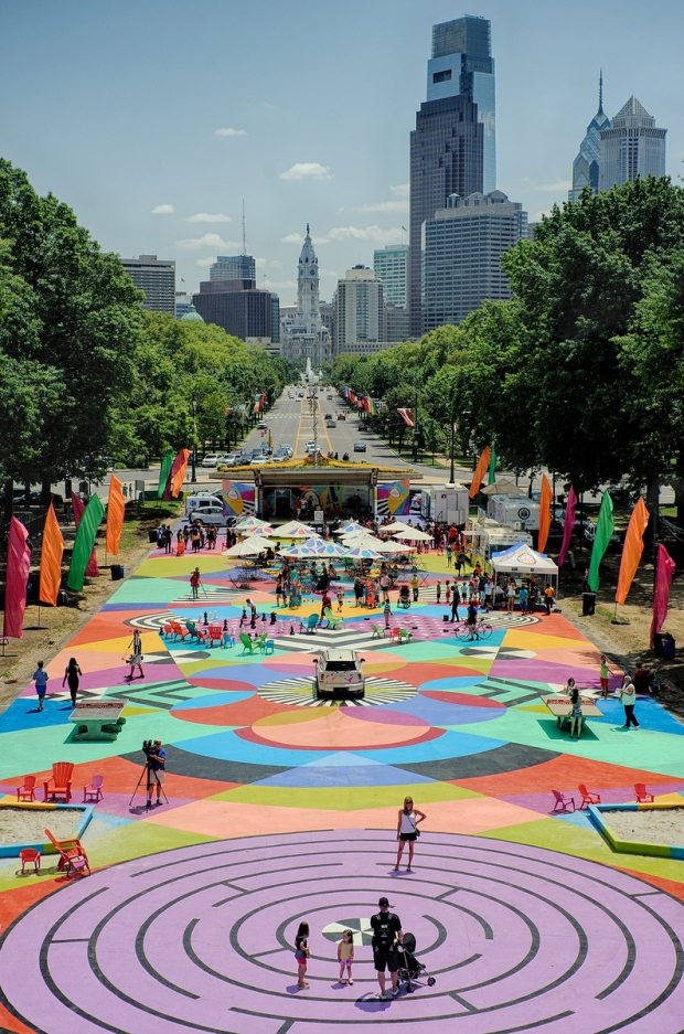 Opening Day at The Oval Fairmount Parks Conservancy July 16, 2015