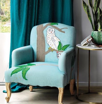 anthropology owl chair