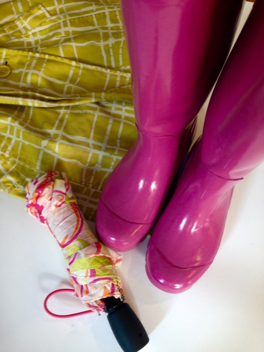 rain coat wellies 2