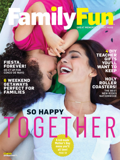 Family Fun Mag May 2016