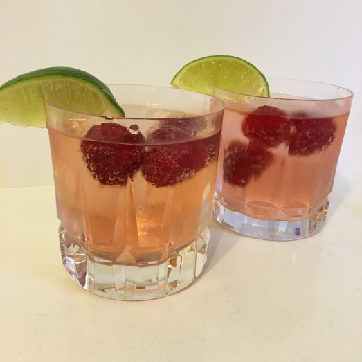 Raspberry Ginger and Rum
